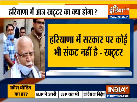 No-confidence motion against Khattar govt in Haryana Assembly today; BJP, JJP, Congress issue whip to MLAs