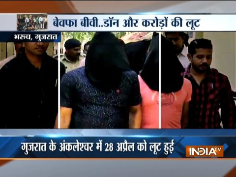 Wife wanted to destroy her husband financially, plans loot with her boyfriend in Bharuch