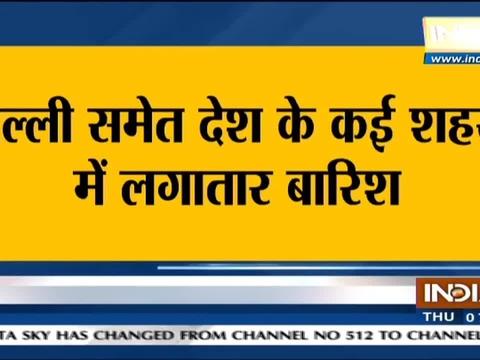 Delhi-NCR witness heavy rainfall in last 24 hours