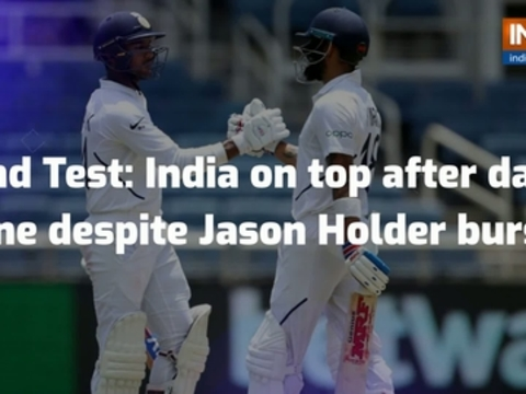 2nd Test, Day 1: Advantage India in Jamaica despite Jason Holder burst