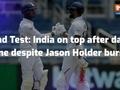 2nd Test, Day 1: Advantage India in Jamaica despite Jason Holder burst