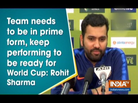 Nobody is guaranteed a World Cup spot: Rohit Sharma