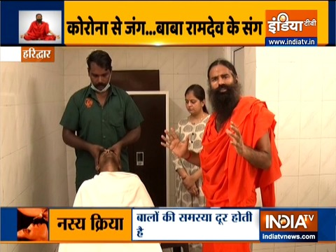 Learn how to perform Panchkarma from Swami Ramdev