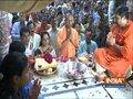 Mathura: Hema Malini, Yogi Adityanath perform prayer at Banke Bihari temple