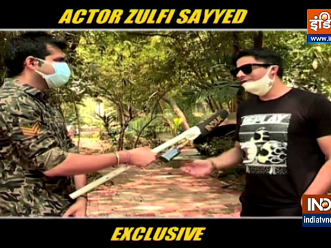 Actor Zulfi Sayyed speaks to India Tv about COVID-19