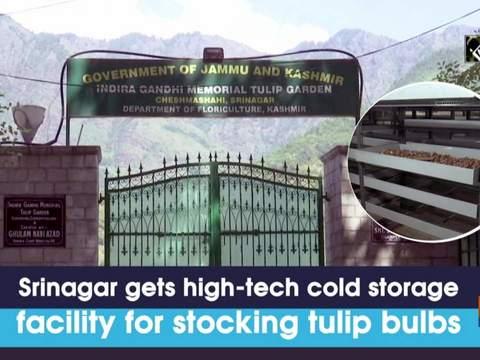 Srinagar gets high-tech cold storage facility for stocking tulip bulbs