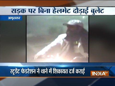 Comedian Kapil Sharma in legal trouble for not wearing a helmet