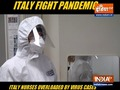 Italy nurses overloaded by virus cases