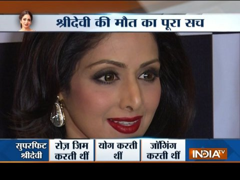 The complete truth behind Sridevi's demise
