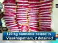 120 kg cannabis seized in Visakhapatnam, 2 detained