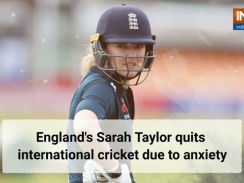 England's Sarah Taylor quits international cricket due to anxiety