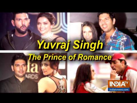 Yuvraj Singh's alleged love affairs Bollywood actresses