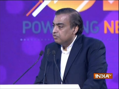 UP Investors Summit 2018: RJio to invest Rs 10,000-cr in 3 years, announces Mukesh Ambani