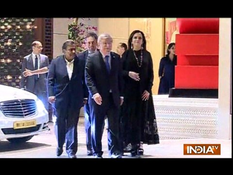 Nita Ambani hosts grand party for IOC president Thomas Bach; Ratan Tata, Sachin Tendulkar in attendance