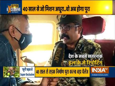 India TV's Ground Report from naxal hotbed in Chhattisgarh's Sukma