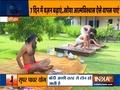 Swami Ramdev shows how to make a healthy immunity-boosting shake