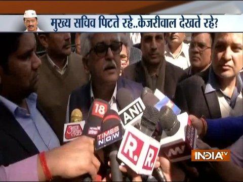 दिल्ली मुख्य सचिव बदसलूकी मामला: दिल्ली के आईएएस अफसर हड़ताल पर गए