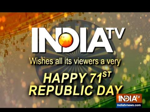 इंडिया टीवी परिवार की ओर से हमारे सभी दर्शकों को गणतंत्र दिवस की हार्दिक शुभकामनाएं
