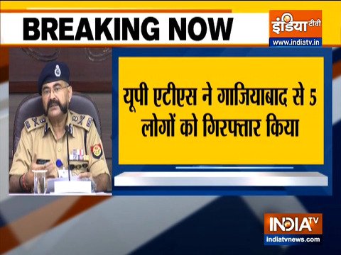 UP ATS arrested 5 people from ghaziabad in Human trafficking case