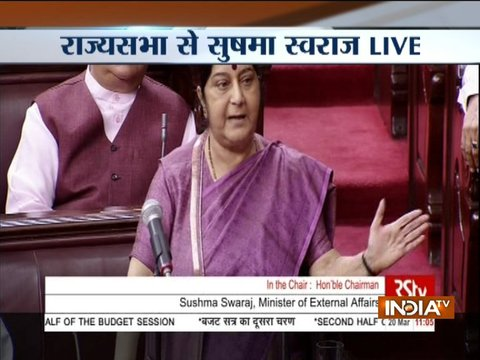 39 Indians who were abducted in Iraq are dead: EAM Sushma Swaraj in Rajya Sabha
