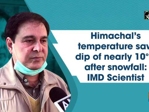 Himachal's temperature saw dip of nearly 10 digree C after snowfall: IMD Scientist