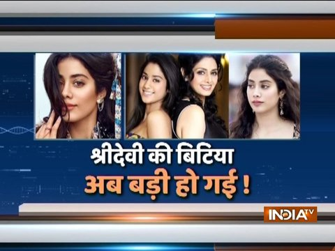 Janhvi Kapoor talks about Dhadak at song launch in Jaipur