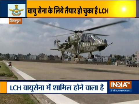 Light Combat Helicopter to be inducted into the armed forces soon