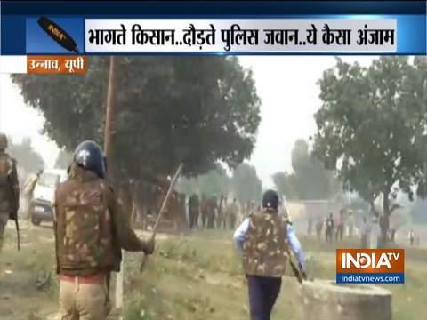 देखें: उन्नाव में पुलिस और किसानों के बीच हुई झड़प