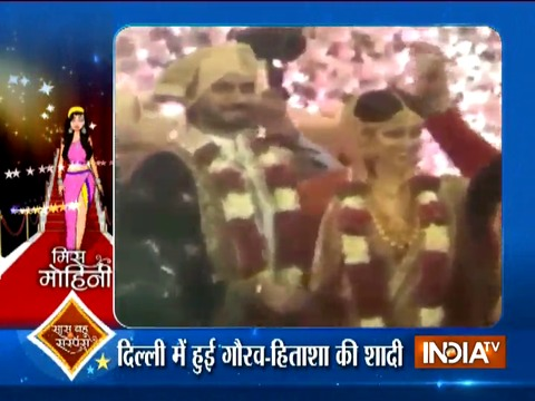 Gaurav Chopra gets married to Hitasha