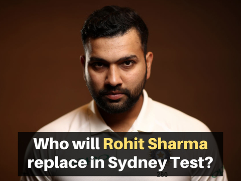 AUS vs IND: Who will Rohit Sharma replace in Sydney Test?