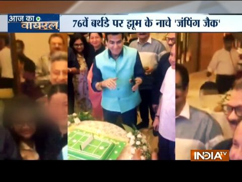 Jeetendra turns 76: This how the veteran actor celebrated his birthday