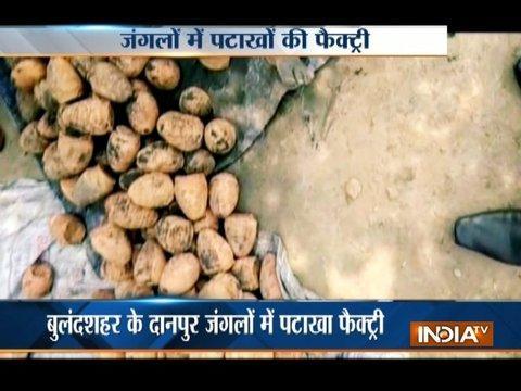 India Tv Exclusive: Children found making firecrackers in Bulandshahr