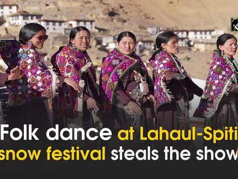 Folk dance at snow festival in Lahaul-Spiti steals the show