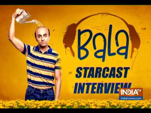 Ayushmann Khurrana and Yami Gautam get candid about Bala film