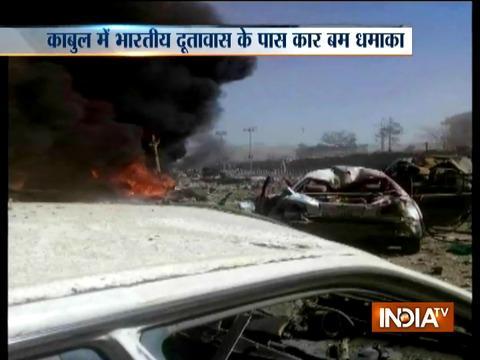 Car bomb blast near Indian Embassy in Kabul