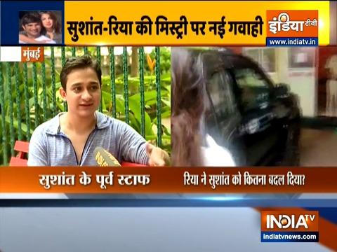 Sushant's personal boy Ankit Acharya claims Rhea had hypnotized him