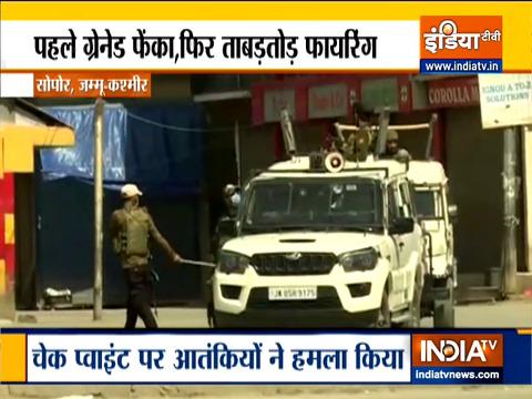 Ground Report: 2 civilians, 2 cops killed in J&K's Sopore terrorists attack