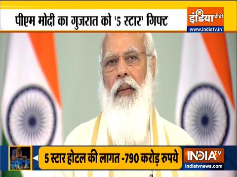 PM Modi inaugurates revamped Vadnagar railway station