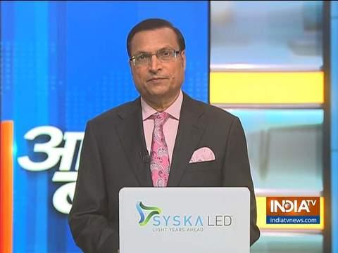 आज की बात रजत शर्मा के साथ | 3 अप्रैल, 2020