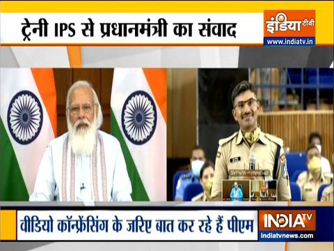 देश के नए अफसरों को मोदी 'मंत्र', देखिए IPS प्रोबेशनर्स से पीएम मोदी का संवाद