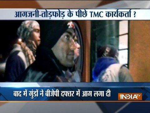 Miscreants target BJP office in Bengal