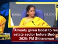 Budget 2020: FM Sitharaman reserves her comment till Monday on bloodbath at D-street