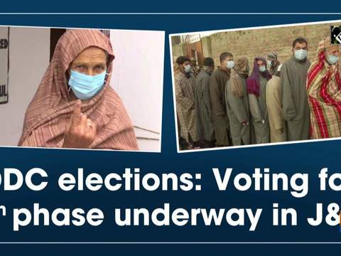 DDC elections: Voting for 7th phase underway in J&K