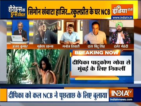 NCB की टीम रकुल प्रीत सिंह के घर पहुंची, कल पूछताछ में होंगी शामिल