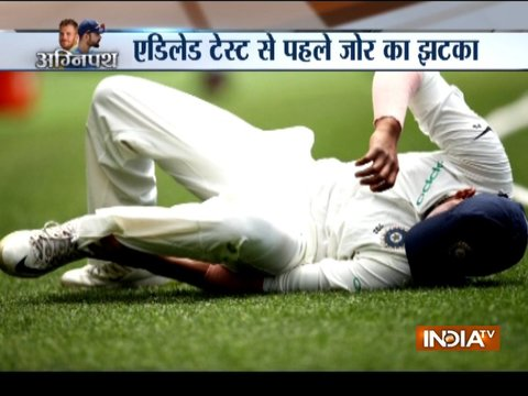 Prithvi Shaw's ankle injury a huge blow to India ahead of Adelaide Test