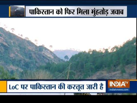 जम्मू और कश्मीर के नौशेरा सेक्टर में LoC पर पाकिस्तान ने संघर्ष विराम का उल्लंघन किया