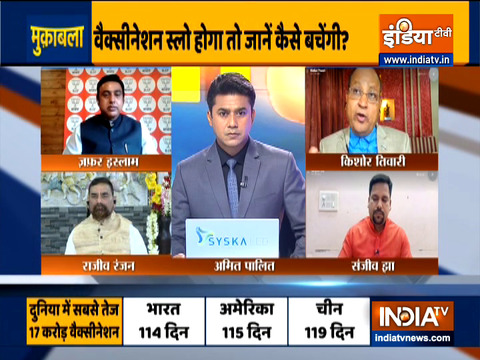 Muqabla   At current vaccination pace, How India will Slow Down The Rise Of COVID-19? watch full debate