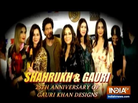 शाहरुख खान और गौरी ने दी शानदार पार्टी
