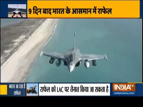 IAF likely to deploy Rafale fighters in Ladakh amid border row