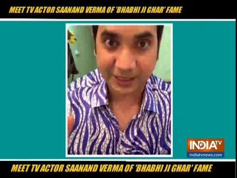 Saanand Verma aka Saxenji of Bhabiji Ghar Par Hain on his TV journey
